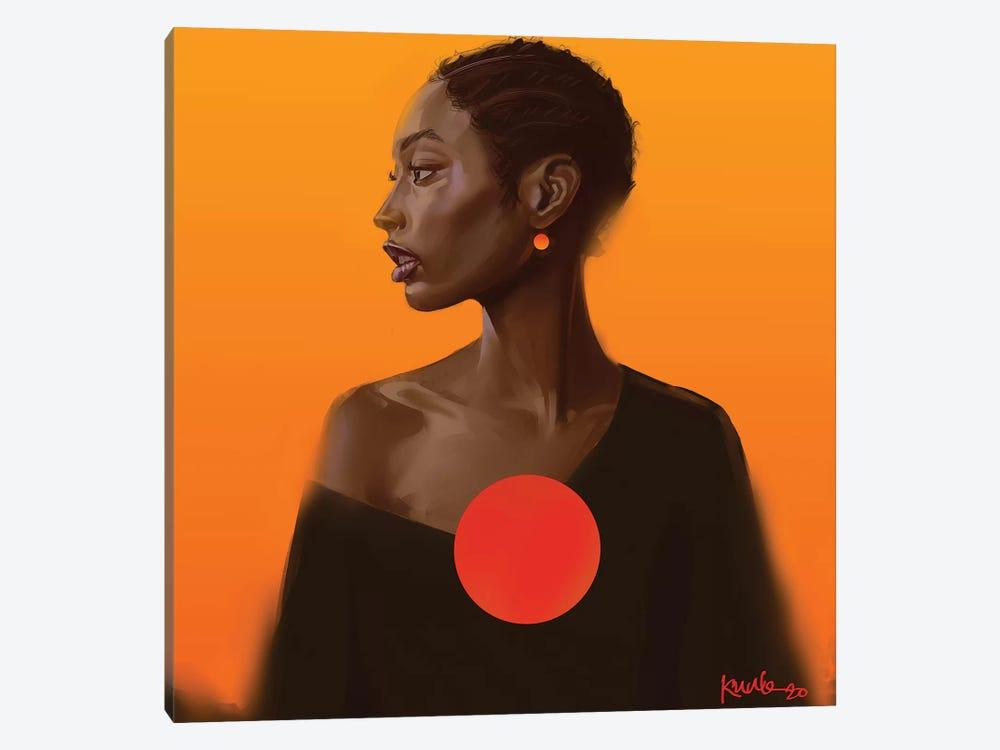Sunset by Adekunle Adeleke 1-piece Art Print