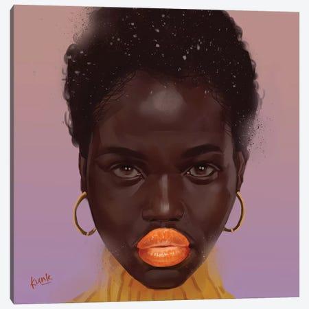 Tangerine Canvas Print #ADK23} by Adekunle Adeleke Canvas Art Print