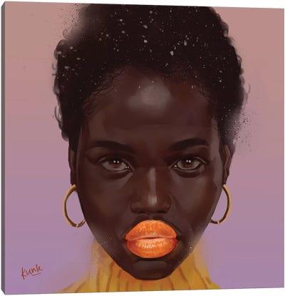 Tangerine Canvas Art Print
