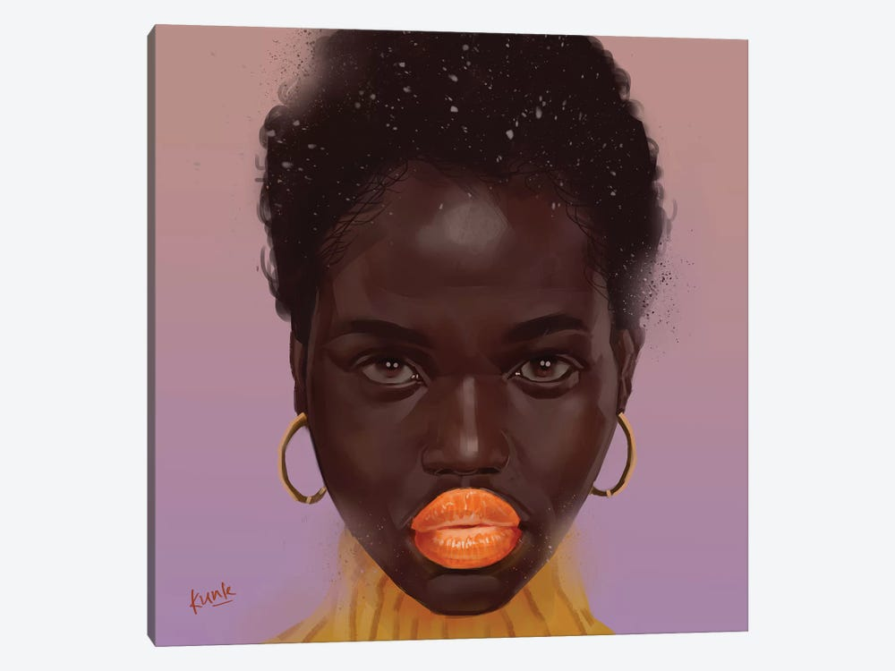 Tangerine by Adekunle Adeleke 1-piece Canvas Artwork
