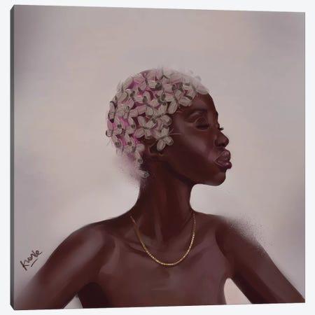 Tulip Canvas Print #ADK24} by Adekunle Adeleke Canvas Artwork