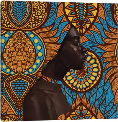 Wax Series Canvas Art Print
