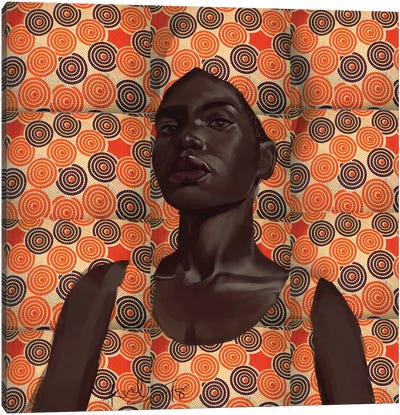 Wax Series II Canvas Art Print