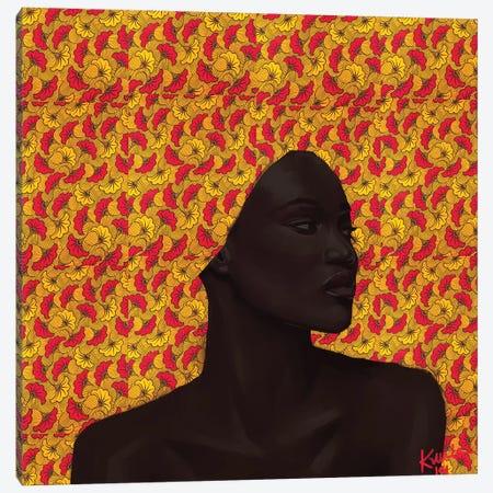 Wax Series III Canvas Print #ADK28} by Adekunle Adeleke Canvas Print