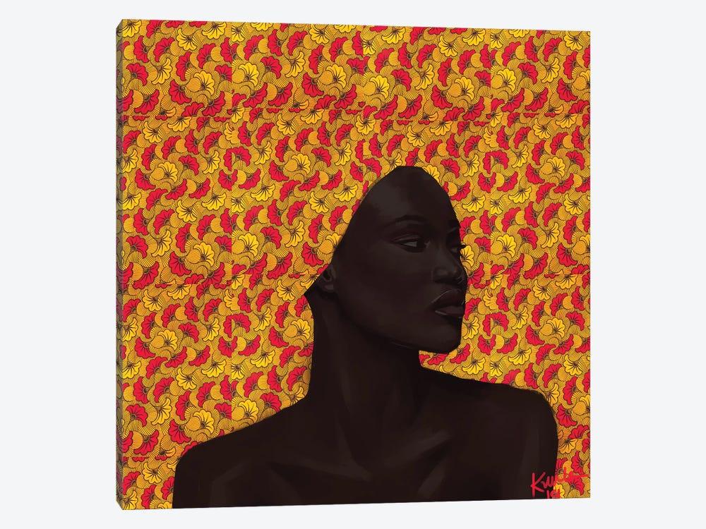 Wax Series III by Adekunle Adeleke 1-piece Canvas Art Print