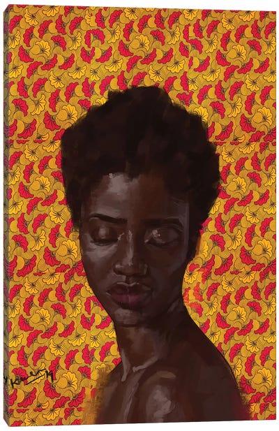 Wax Series IV Canvas Art Print