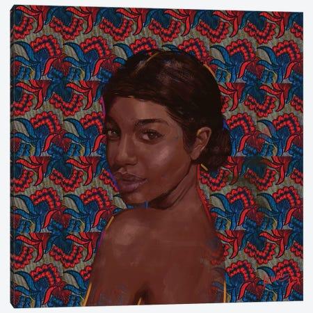 Wax Series V Canvas Print #ADK30} by Adekunle Adeleke Canvas Artwork