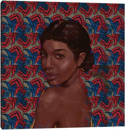Wax Series V Canvas Art Print