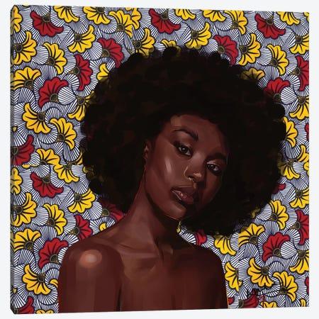 Wax Series VI Canvas Print #ADK31} by Adekunle Adeleke Canvas Art