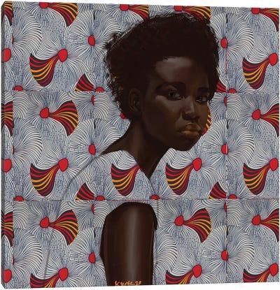Wax Series VII Canvas Art Print