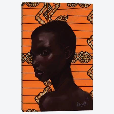 Wax Series VII.I Canvas Print #ADK33} by Adekunle Adeleke Canvas Art