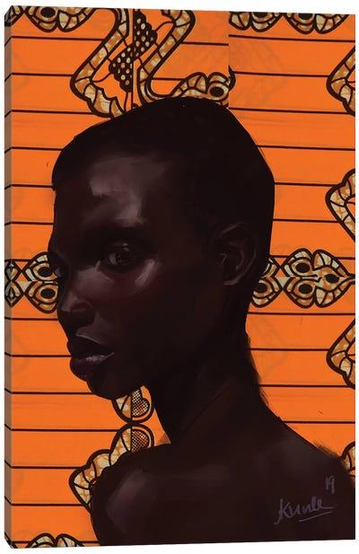 Wax Series VII.I Canvas Art Print