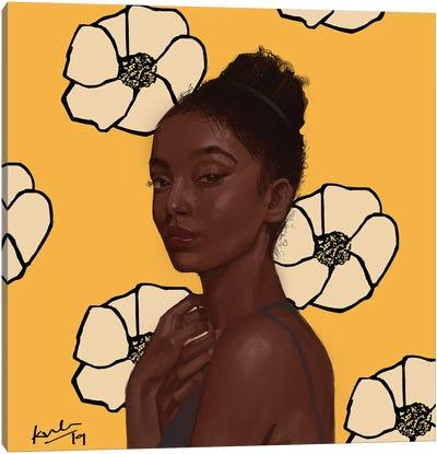 Yellow Canvas Art Print