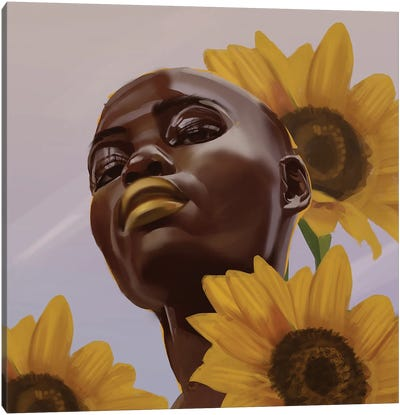 Goldie II Canvas Art Print