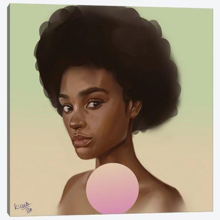 Envy Canvas Print #ADK47} by Adekunle Adeleke Canvas Artwork