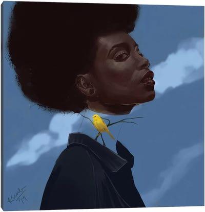 Canary Canvas Art Print