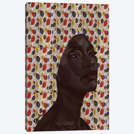 Elegance Canvas Print #ADK5} by Adekunle Adeleke Canvas Artwork