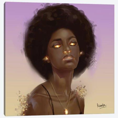 Ember Canvas Print #ADK6} by Adekunle Adeleke Canvas Artwork