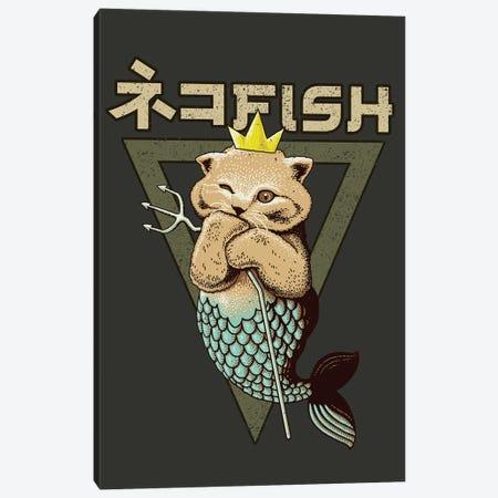 Catfish King Canvas Print #ADL111} by Adam Lawless Canvas Artwork