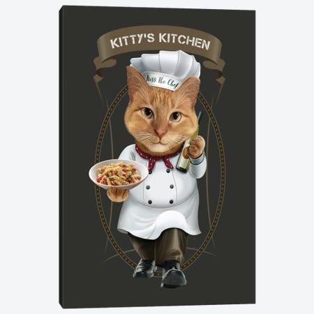 Kittys Kitchen Canvas Print #ADL141} by Adam Lawless Canvas Art Print