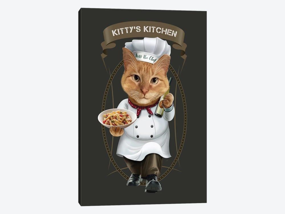 Kittys Kitchen by Adam Lawless 1-piece Canvas Wall Art