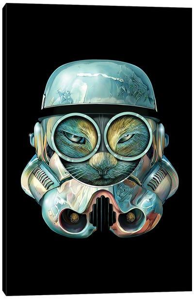 Meow Trooper Canvas Art Print