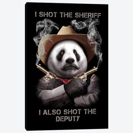 Sheriff Canvas Print #ADL160} by Adam Lawless Canvas Print