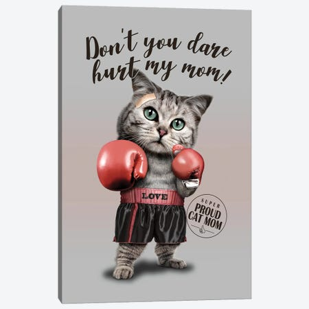 Dont You Dare Canvas Print #ADL169} by Adam Lawless Canvas Art Print