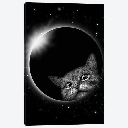 Eclipse Gerhana Canvas Print #ADL26} by Adam Lawless Art Print