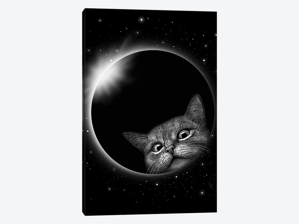 Eclipse Gerhana by Adam Lawless 1-piece Canvas Wall Art