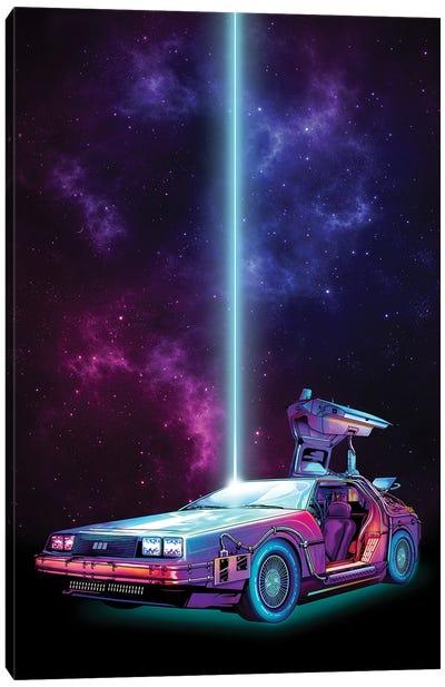Future Car Canvas Art Print
