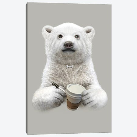 I'm Your Barista Canvas Print #ADL38} by Adam Lawless Canvas Print