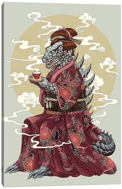Kimono Canvas Art Print