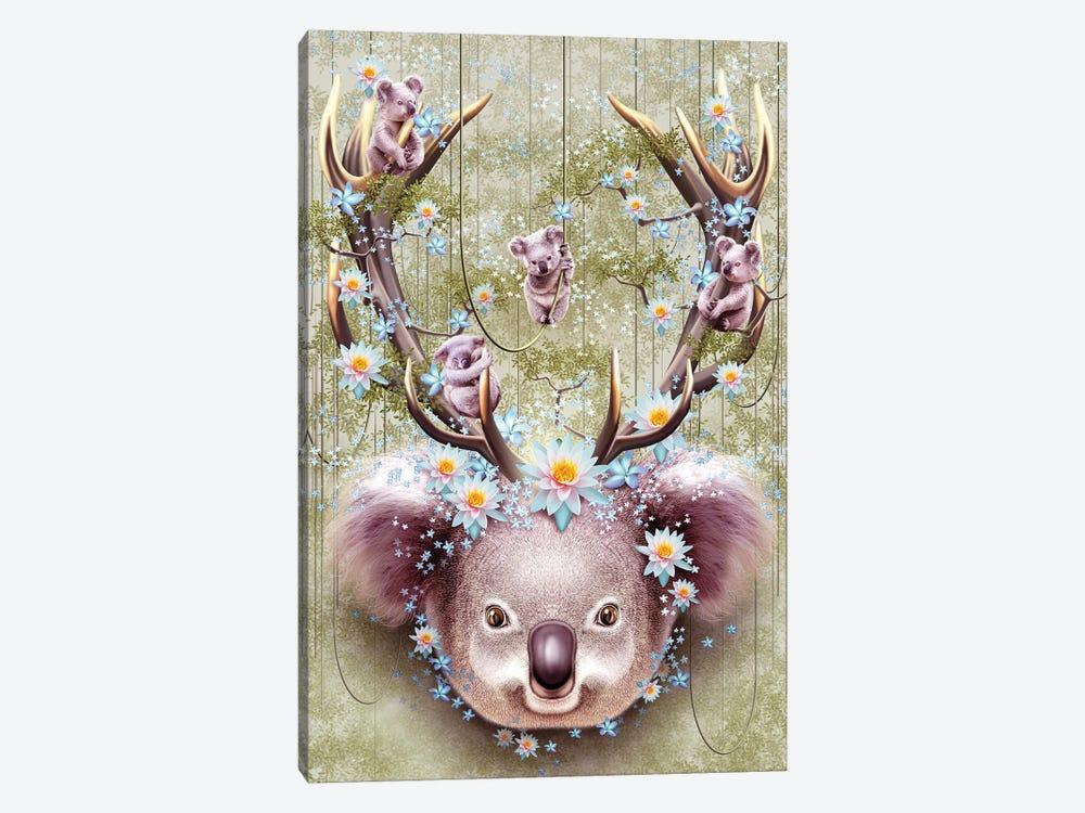 Koala by Adam Lawless 1-piece Canvas Print