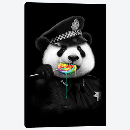 Lollypop Cop Canvas Print #ADL50} by Adam Lawless Canvas Print