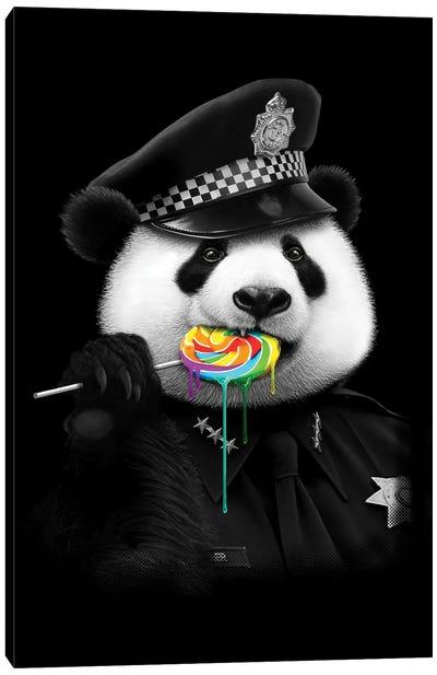 Lollypop Cop Canvas Art Print