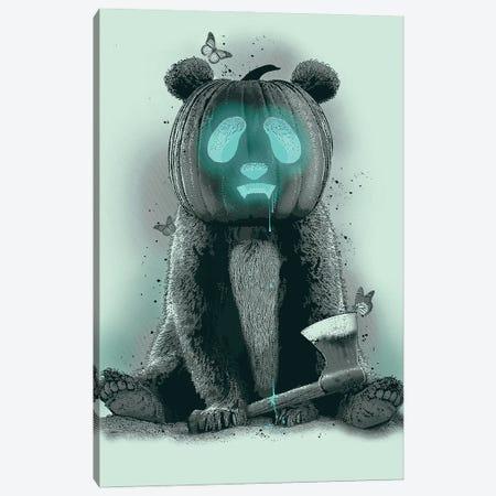 Pandaloween Canvas Print #ADL73} by Adam Lawless Canvas Art Print