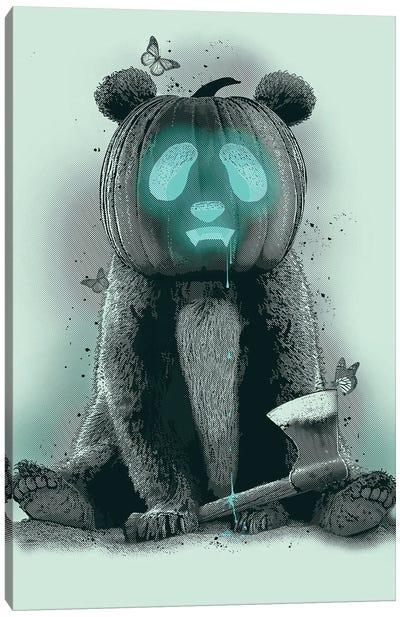 Pandaloween Canvas Art Print