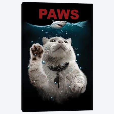 Paws Canvas Print #ADL75} by Adam Lawless Canvas Art
