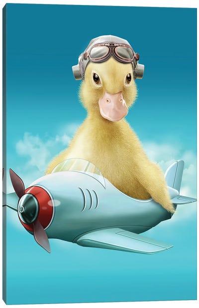 Pilot Duck Canvas Art Print