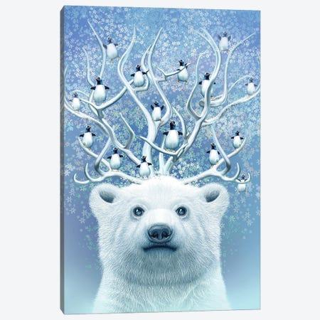 Polar Horns Up Canvas Print #ADL79} by Adam Lawless Canvas Art Print
