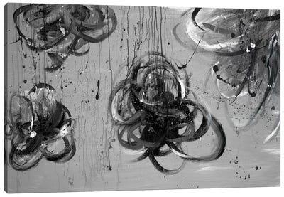 Forms of Gray Canvas Art Print