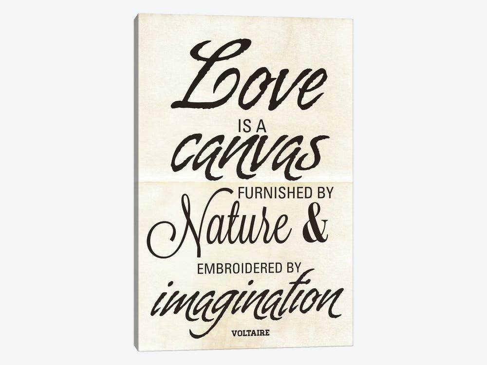 Love Is A Canvas by Addie Marie 1-piece Canvas Artwork