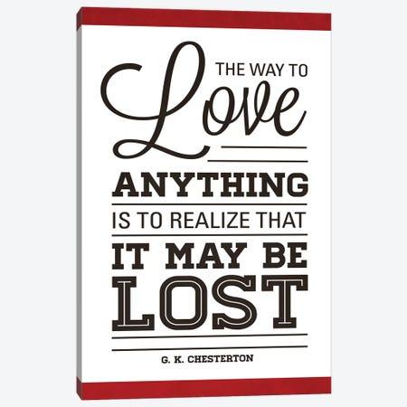 To Love II Canvas Print #ADM7} by Addie Marie Canvas Art
