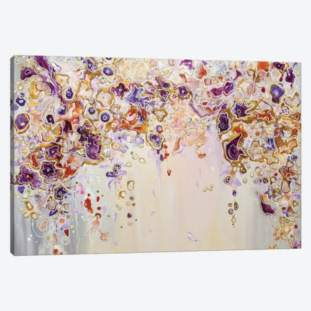 Enchanted Garden Canvas Print #ADN13} by Alexandra Dobreikin Art Print