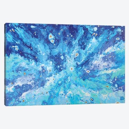 Galaxy Canvas Print #ADN2} by Alexandra Dobreikin Canvas Artwork