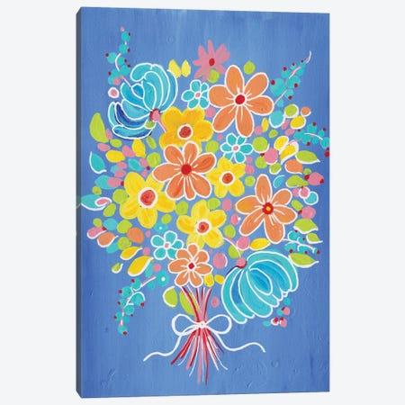 Bouquet For Mommy Canvas Print #ADN34} by Alexandra Dobreikin Canvas Art