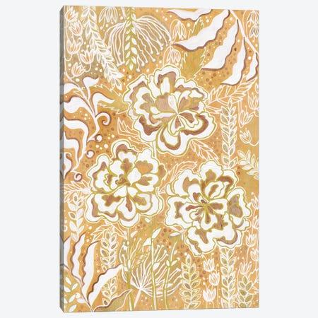Golden Meadow Canvas Print #ADN35} by Alexandra Dobreikin Canvas Wall Art