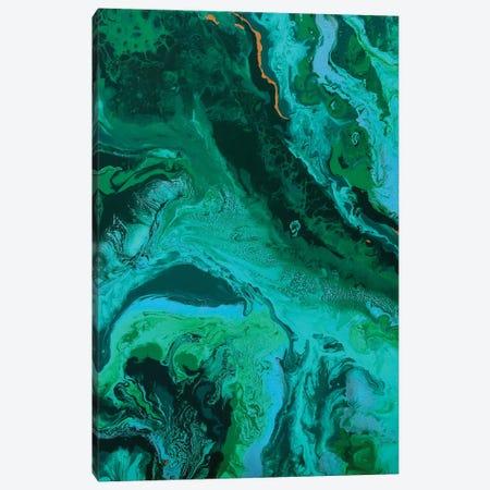 Malachite. Harmony Of Love. Canvas Print #ADN3} by Alexandra Dobreikin Canvas Art