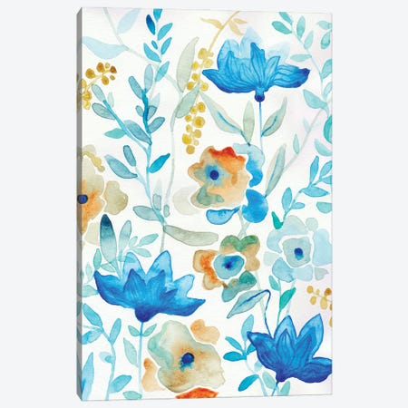Morning Garden Canvas Print #ADN41} by Alexandra Dobreikin Canvas Art